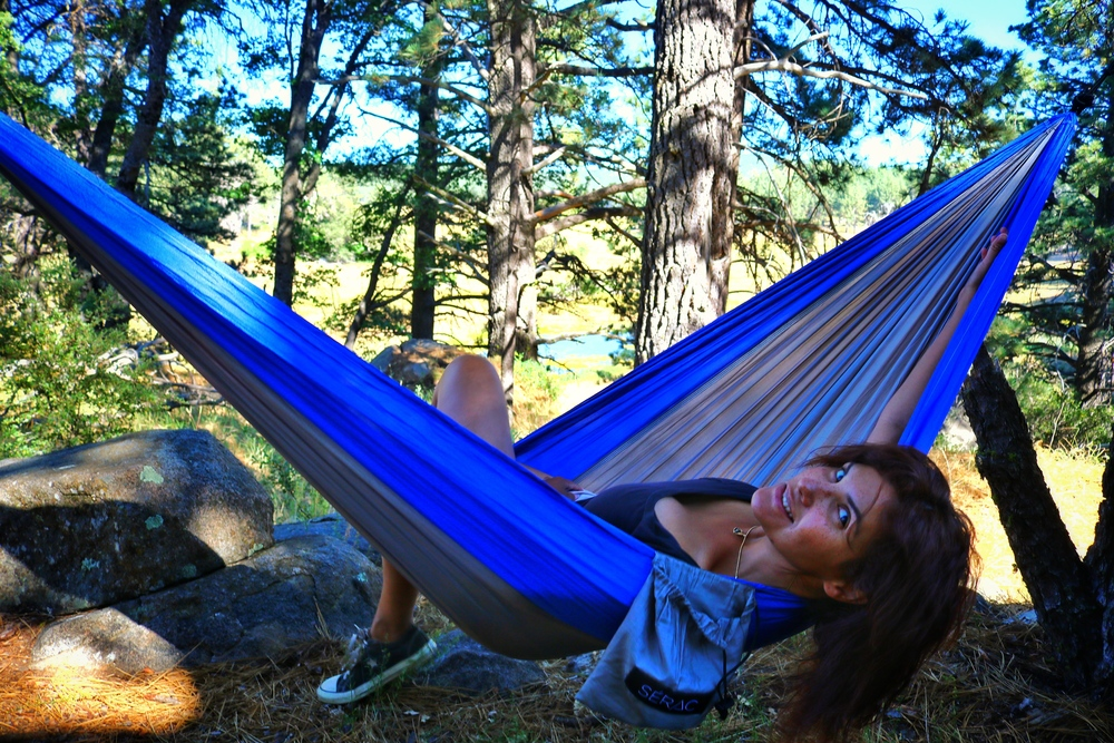 Medium image of the serac classic camping hammock