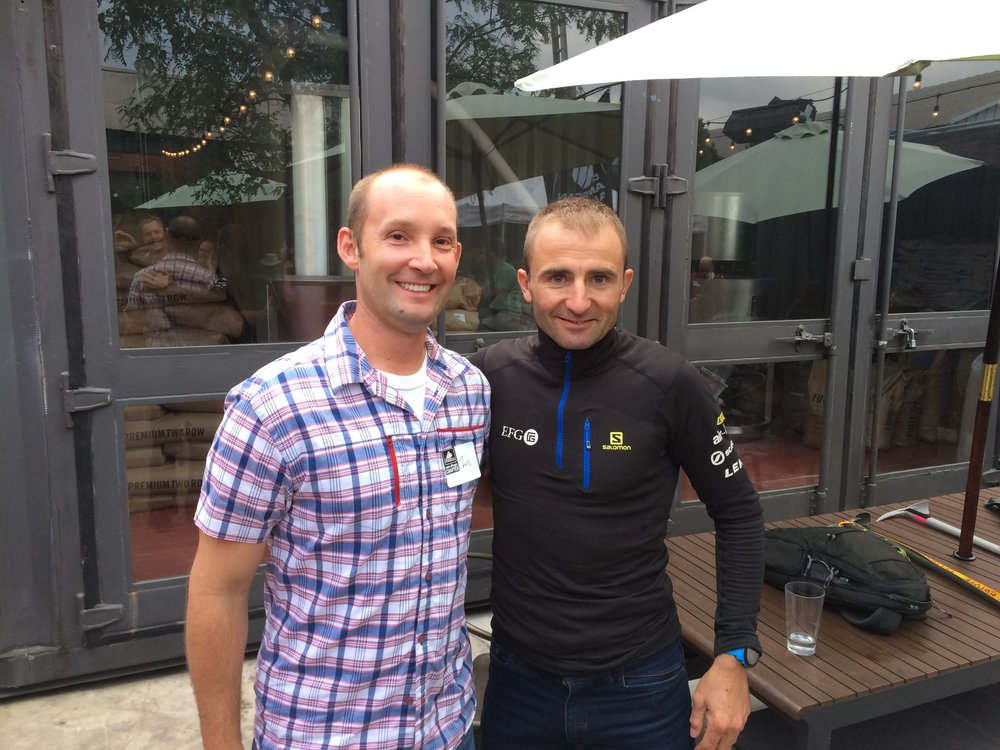 Ueli Steck on the San Diego leg of the American Alpine Club 2016 Tour