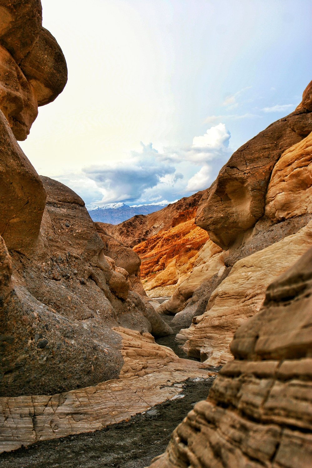 Mosaic Canyon is a stunning slot canyon located outside of Stovepipe Wells
