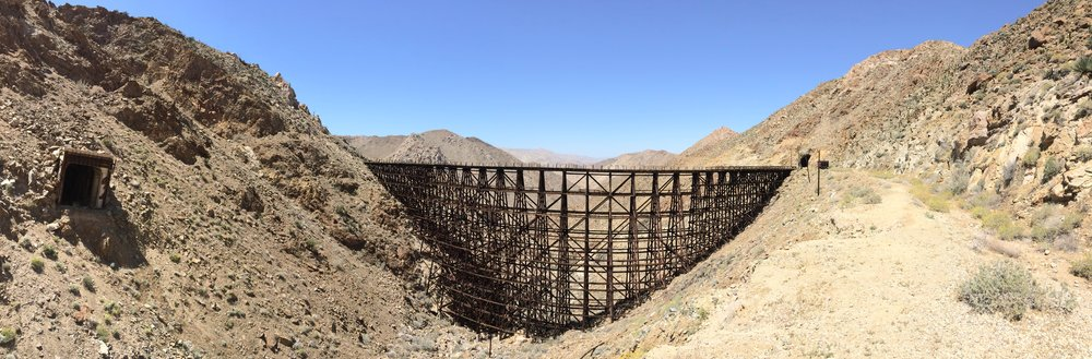 The Goat Canyon Trestle; an engineering marvel near unidentified things.