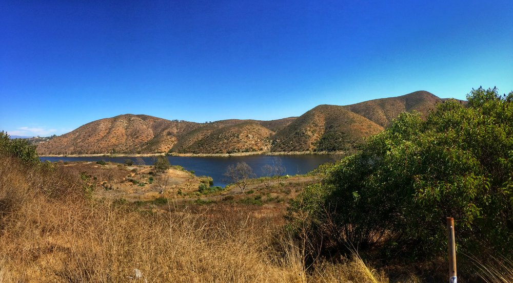 Lake Hodges - a spot that is rumored to hold Southern California's own Loch Ness Monster.