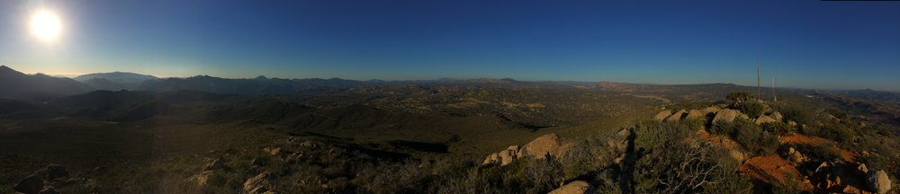 Summit, Potrero Peak