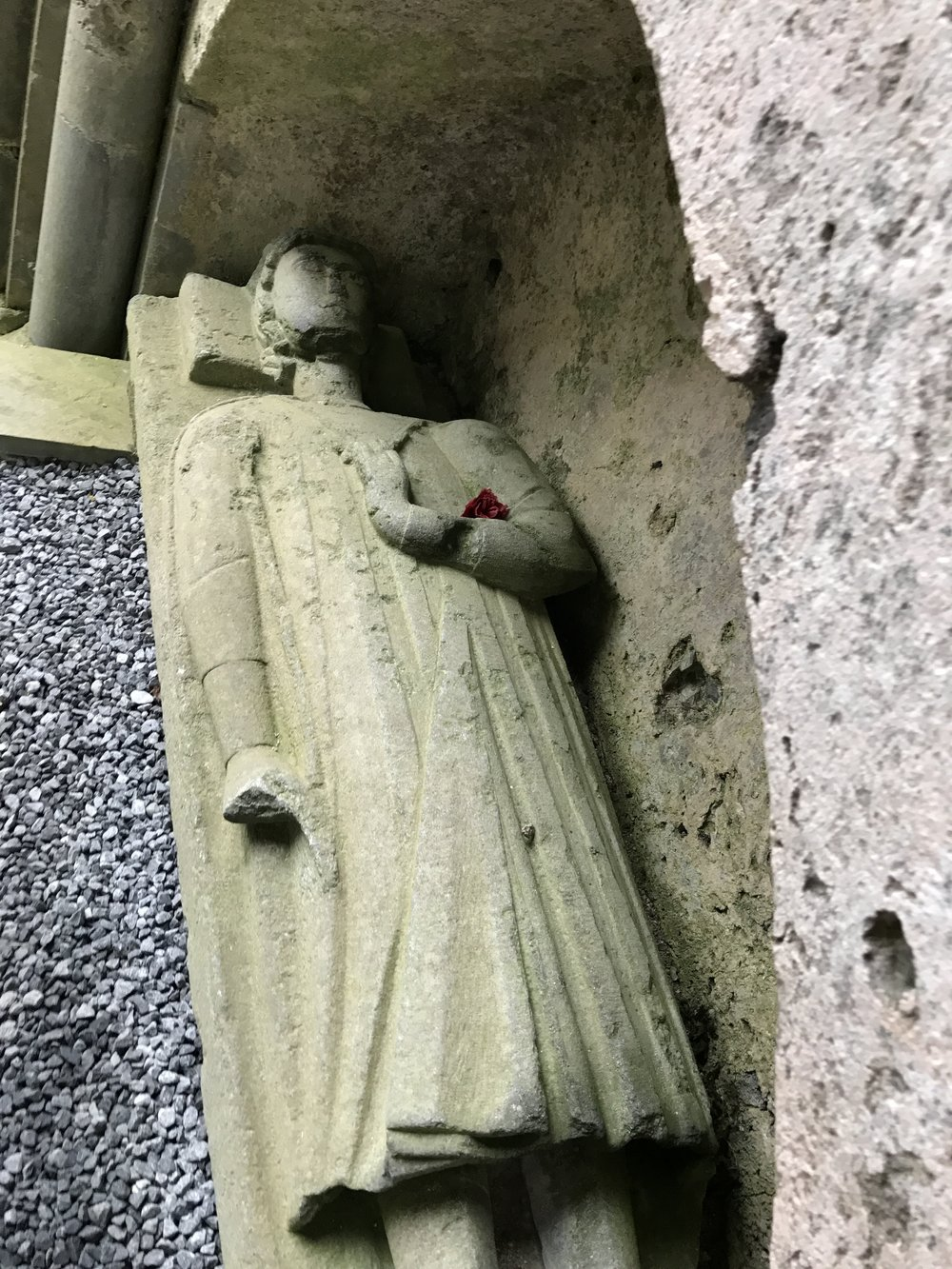 The tomb of Conor O'Brien, who played a large role in the abbey's construction and history is still well preserved some eight hundred years later.