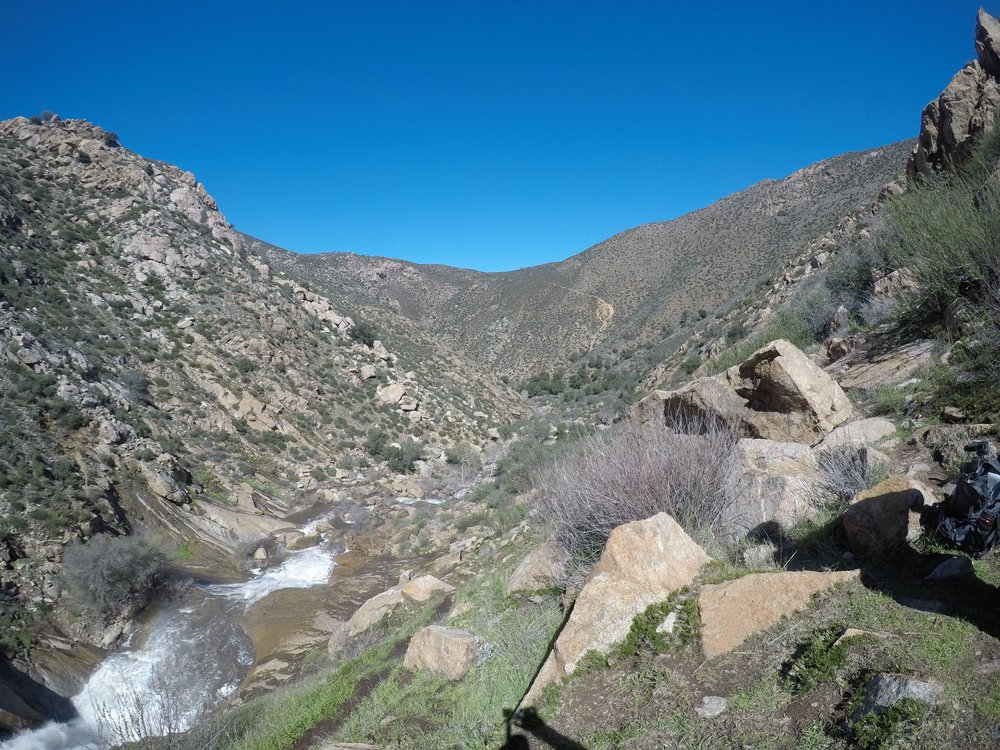 Boulder Creek, Three Sisters Falls Hike