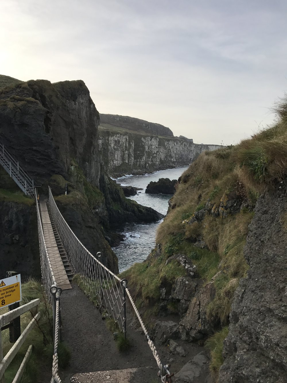 "Long considered one of the ""scariest"" bridges in the world, the Carrick-A-Rede Rope Bridge does not disappint."