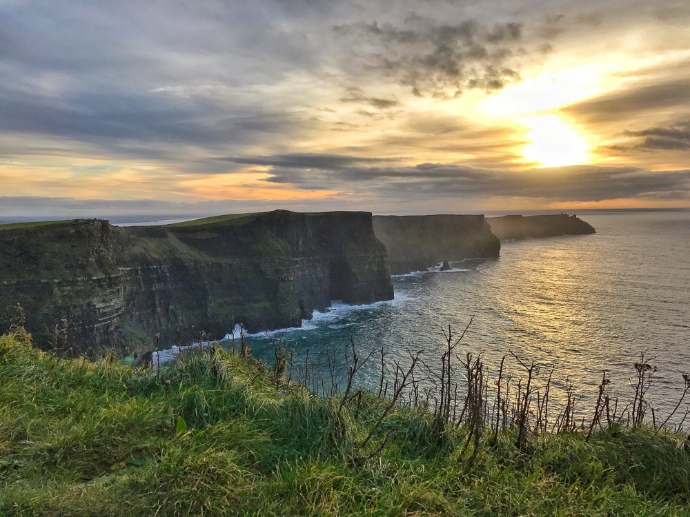 The Cliffs of Moher are Ireland's top natural tourist destination, and one of the top places to visit in Ireland overall.