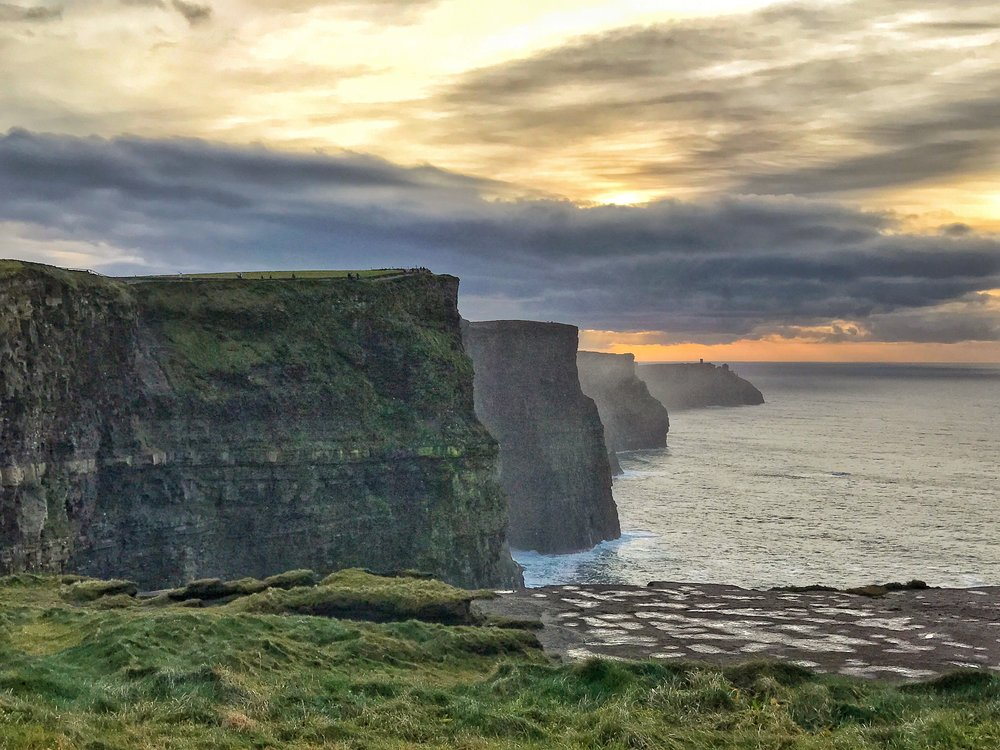Featured in many films and television shows, the Cliffs of Moher are an iconic location.