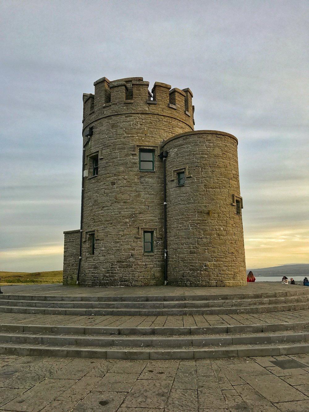O'Brien's Tower, built in the 18th Century has fantastic 360 degree views of the entirety of the Cliffs of Moher
