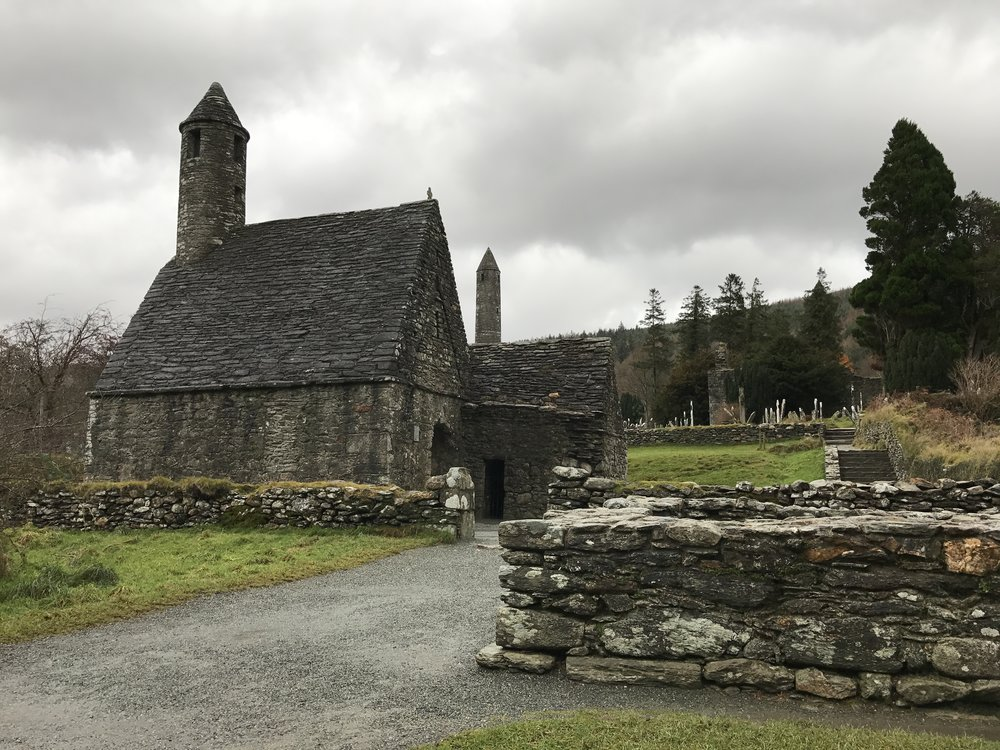 The city at Glendalough was one of Ireland's leading monastic centers for a six hundred year span.