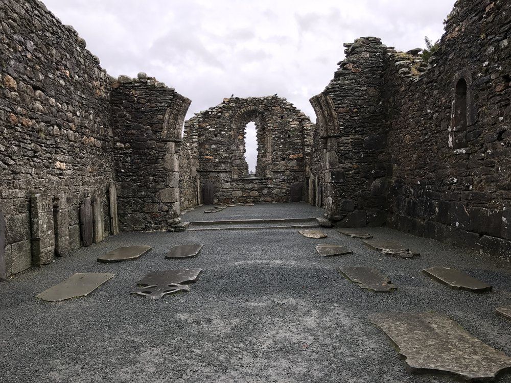 While partially destroyed, the ruins of the Cathedral at Glendalough demonstrate how impressive of a medieval structure it was.