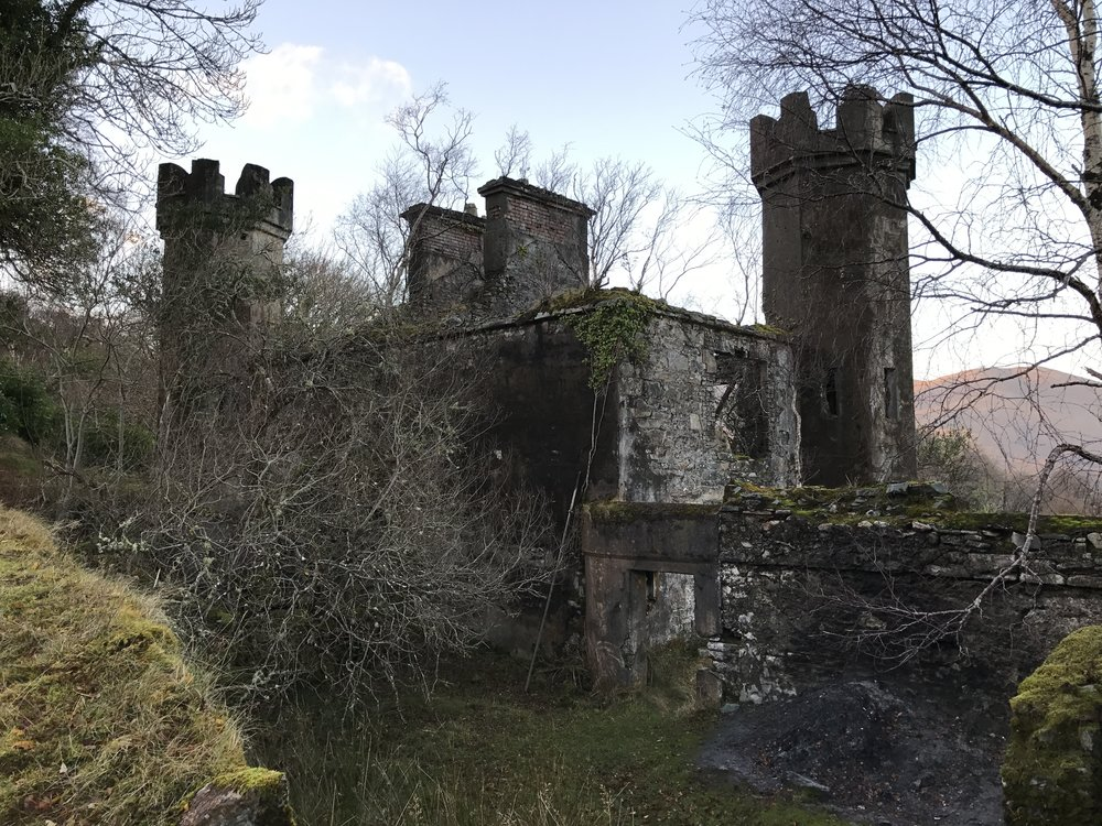 Ruins of the Mulgrave Barracks