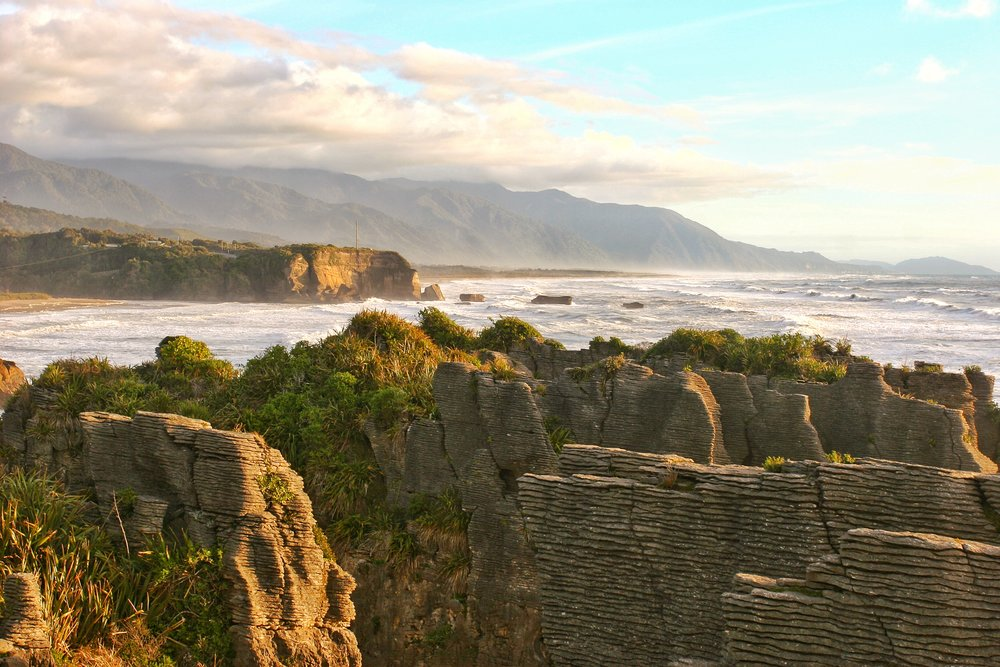 Pancake Rocks, South Island, New Zealand
