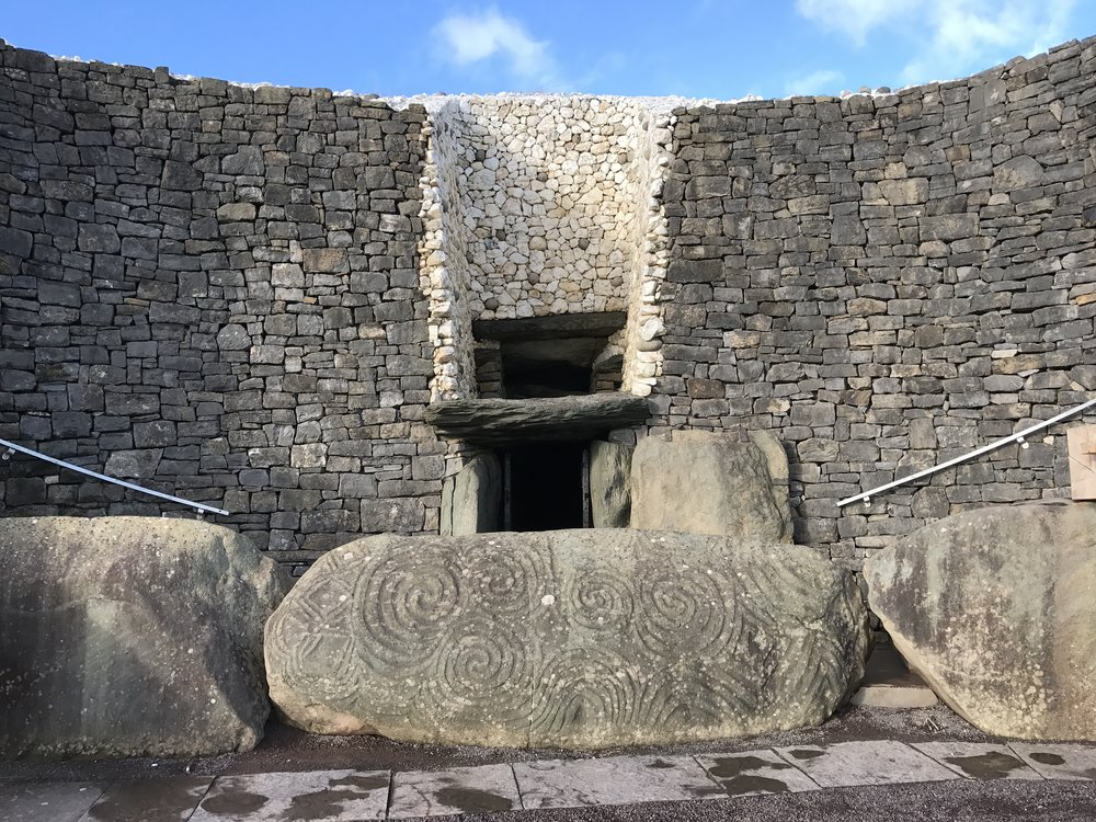 Newgrange is one of the oldest sites in Europe, and is an excellent spot to see megalithic art.