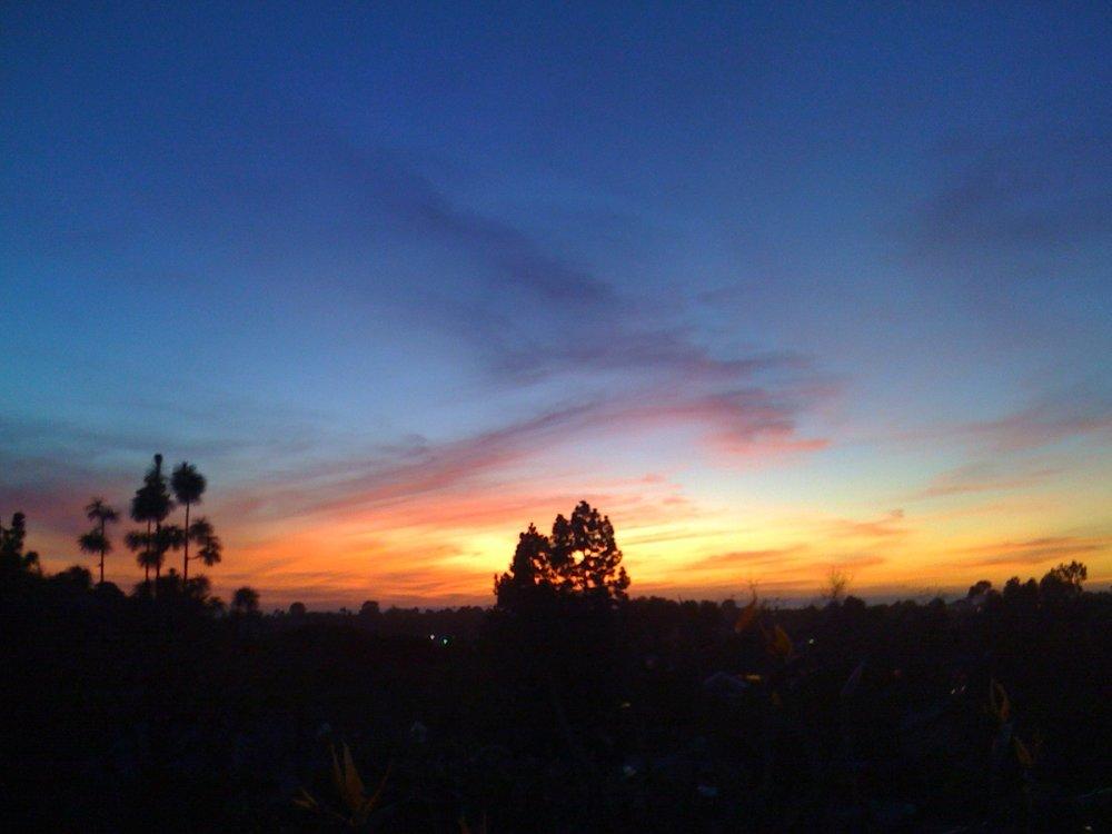 Sunrise, Cowles Mountain