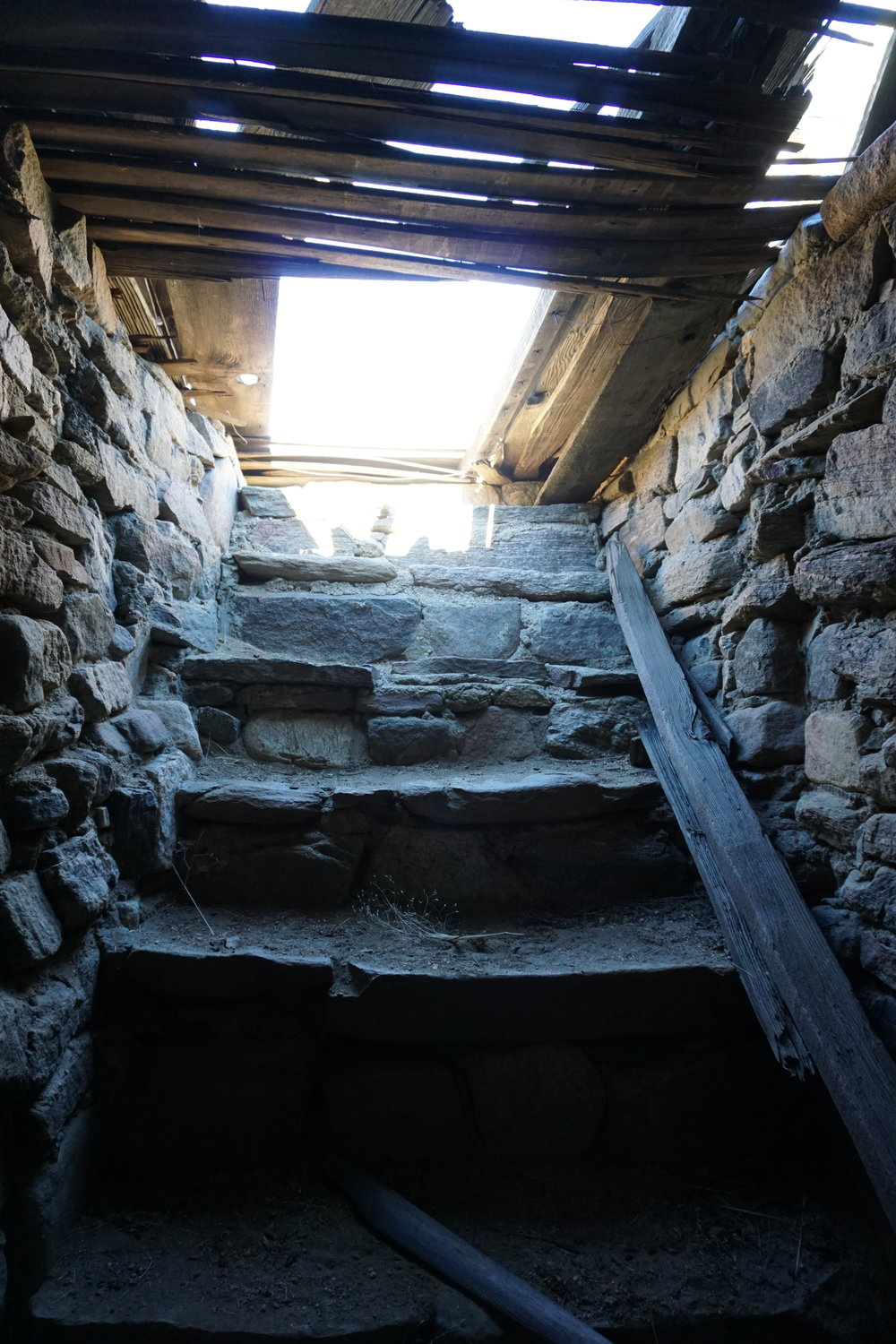 The homestead also has a basement that can be explored cautiously and carefully.