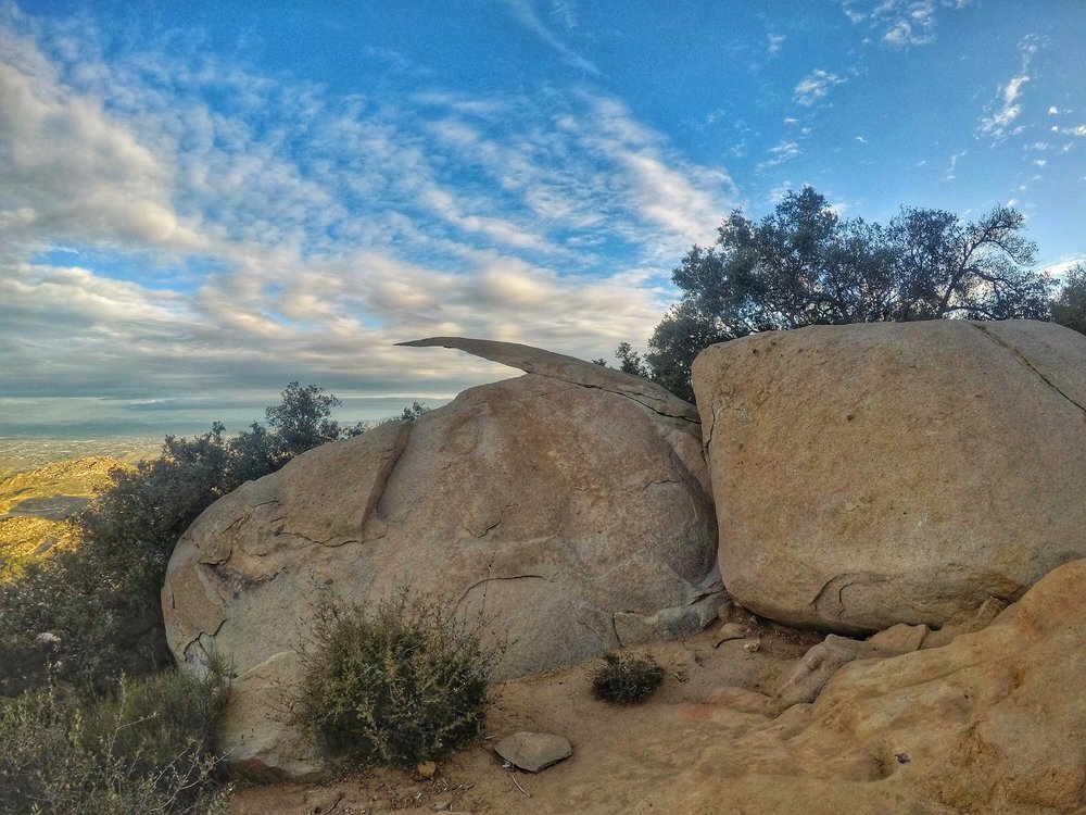 Potato Chip Rock, Mount Woodson