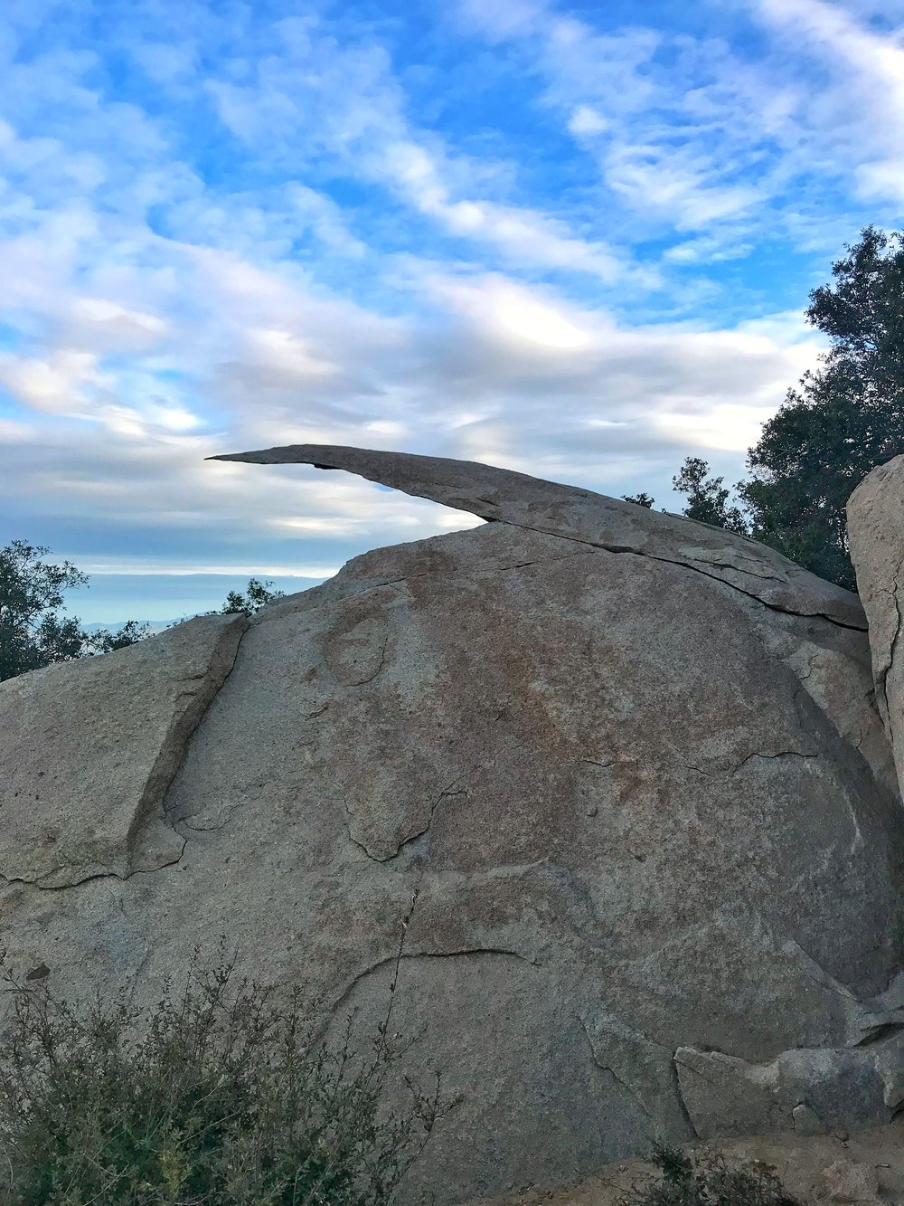 To avoid crowds on Potato Chip Rock, go at dawn on a weekday.