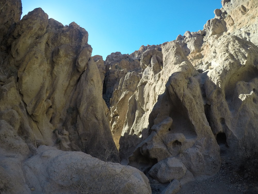 Banshee Canyon, Mojave National Preserve