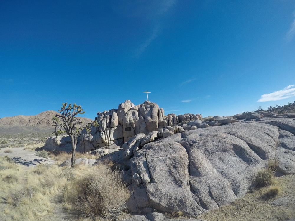 Mojave Memorial Cross