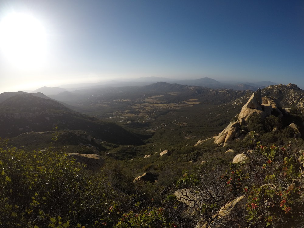 Summit views, Mount Lawson