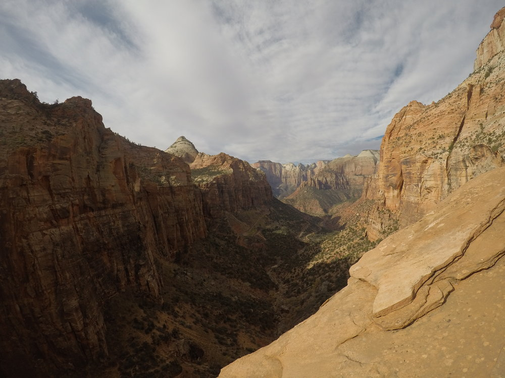 The views from Canyon Overlook are some of the best in Zion National Park.