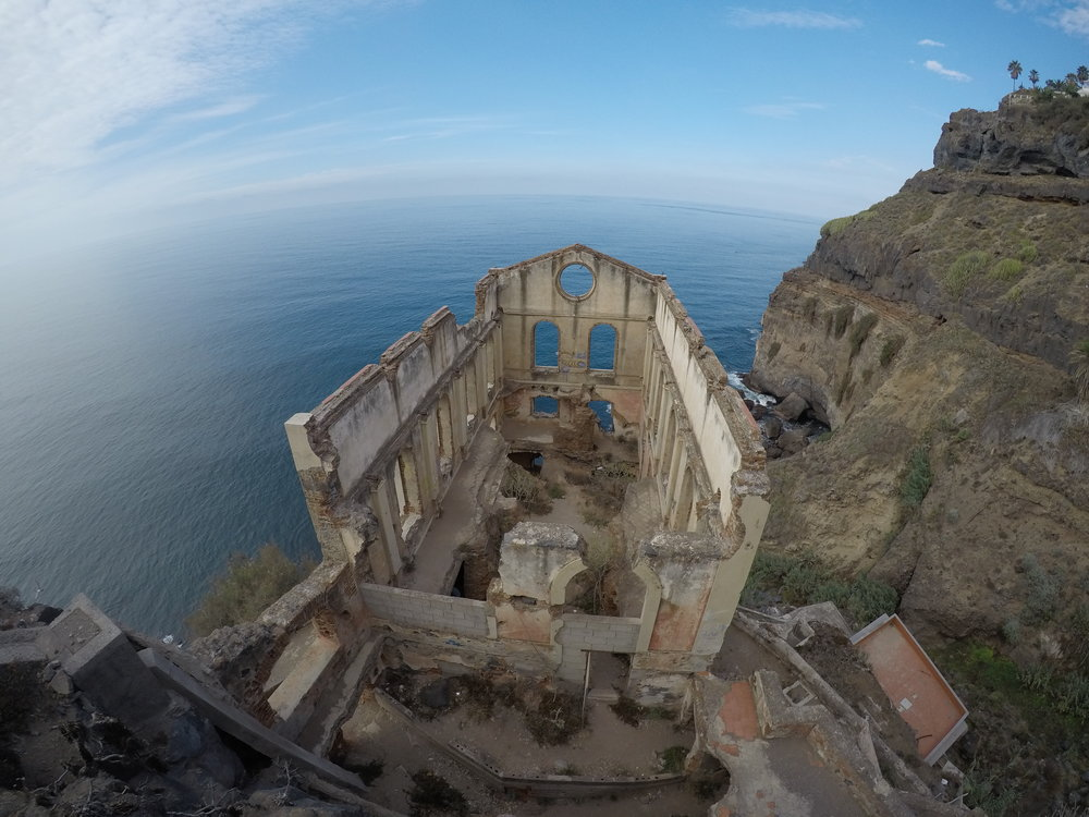 The Levator Gordejuela is a unique ruin on the North Side of Tenerife