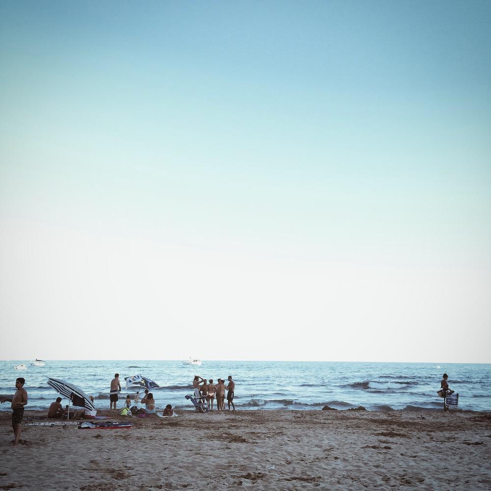 Playa del Garraf, Barcelona