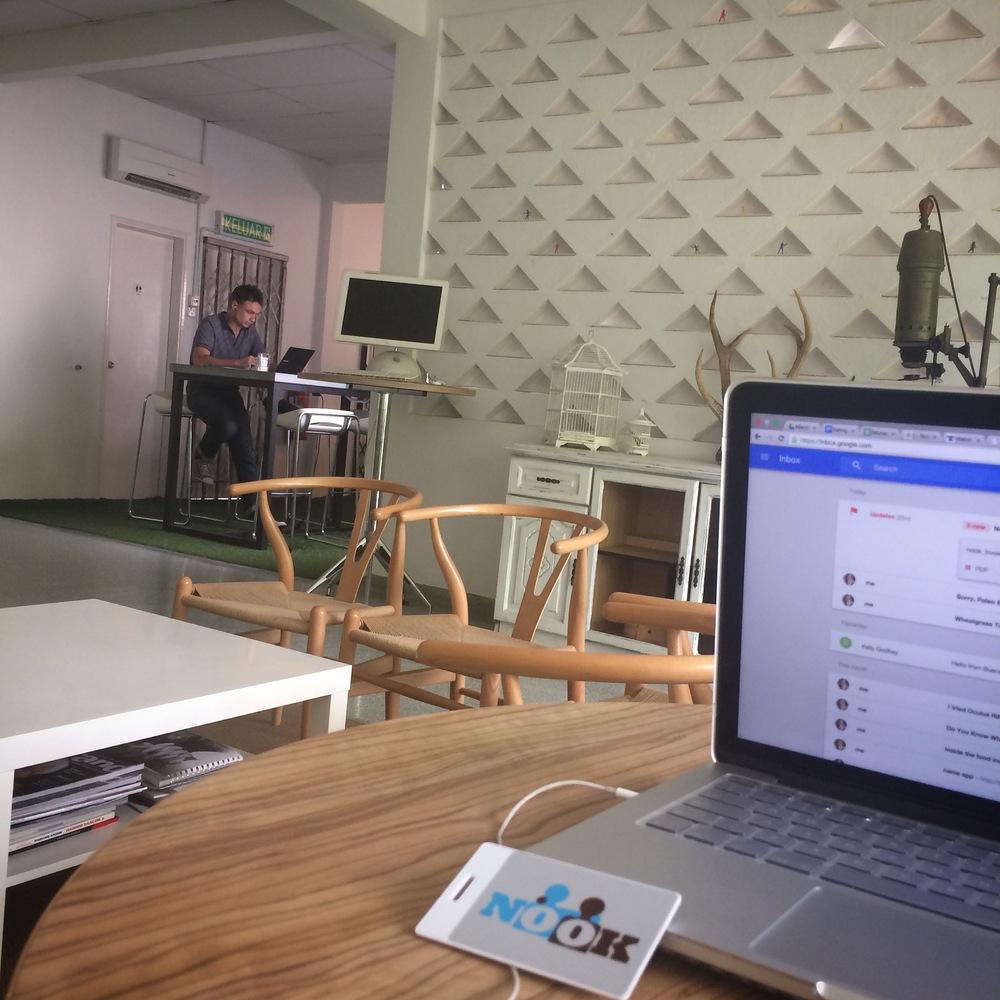 Nook co-working space, Kuala Lumpur, Malaysia
