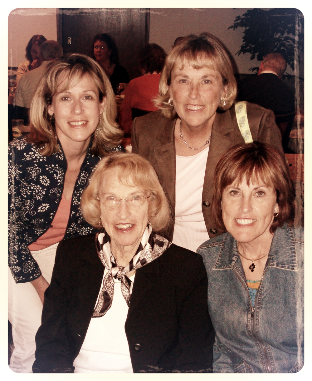 Mother's Day, 2007 - with sisters Nancy and Anne