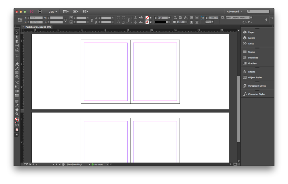 how to delete presets in indesign