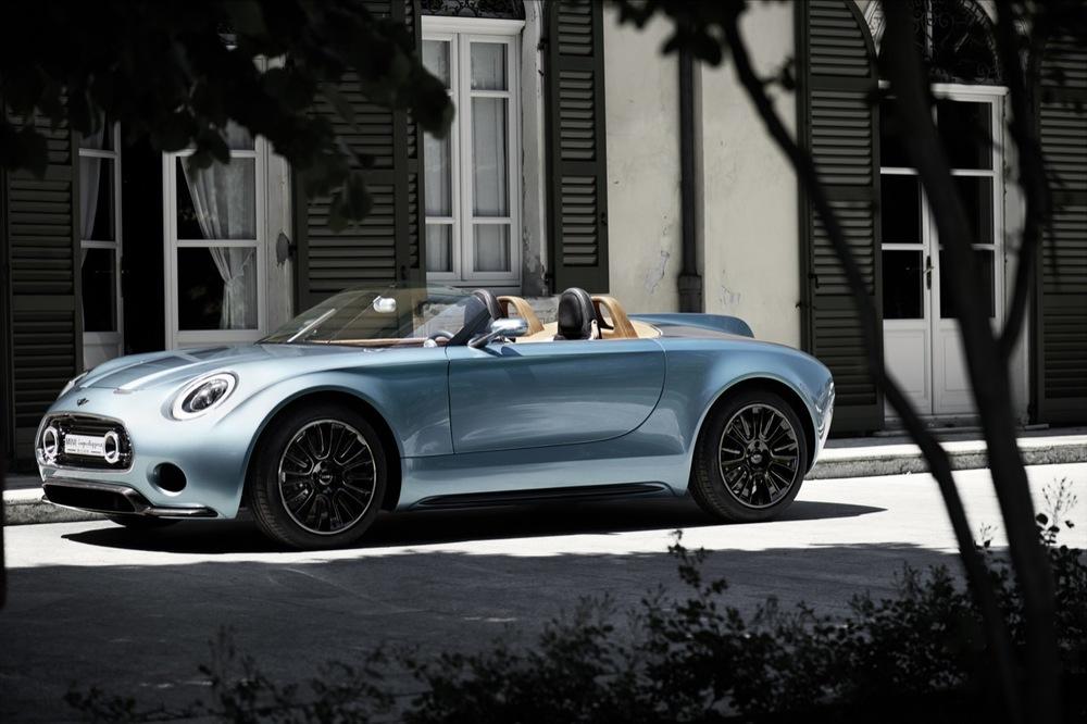 The Mini Superleggera concept car.