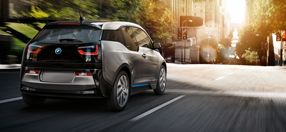 The BMW i3 Electric Car.
