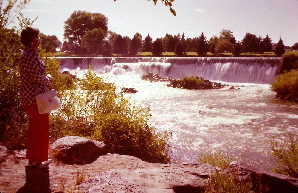 Idaho Falls. 1975. Slide #51.