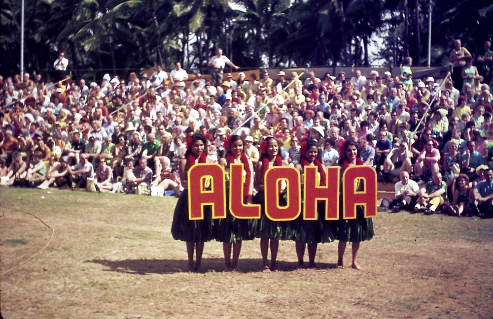 Hawaii. 1969. Slide #12.