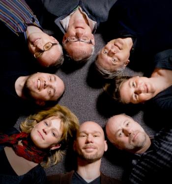CBCS founding members (clockwise from 6 o'clock): Lars Hammarström, Anna-Lena Gustavsson, Lars Johansson, Mikael Elofsson, Per Artursson, Patrik Ernfors, Annika Jenmalm Jensen, and Martin Haraldsson