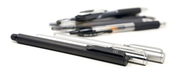 Solid Titanium Pen plus Stylus