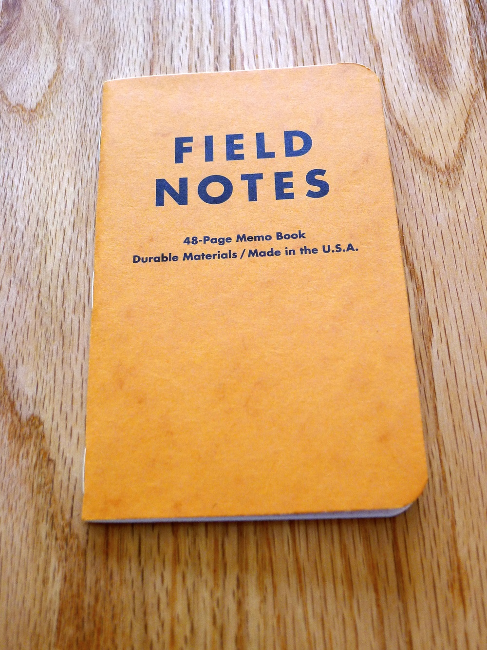Field Notes Butcher Orange - Winter 2008/9