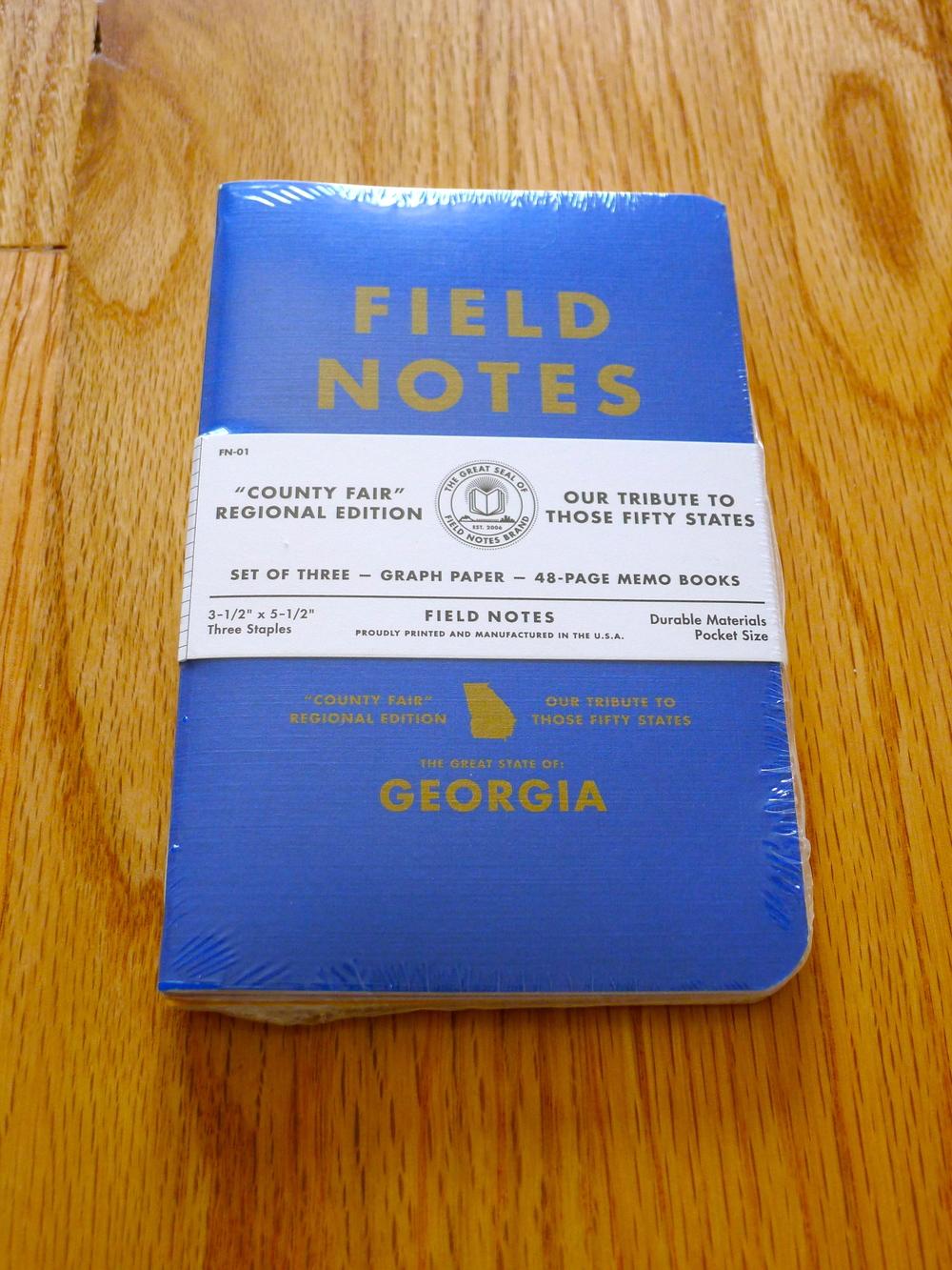 Field Notes County Fair - Summer 2010
