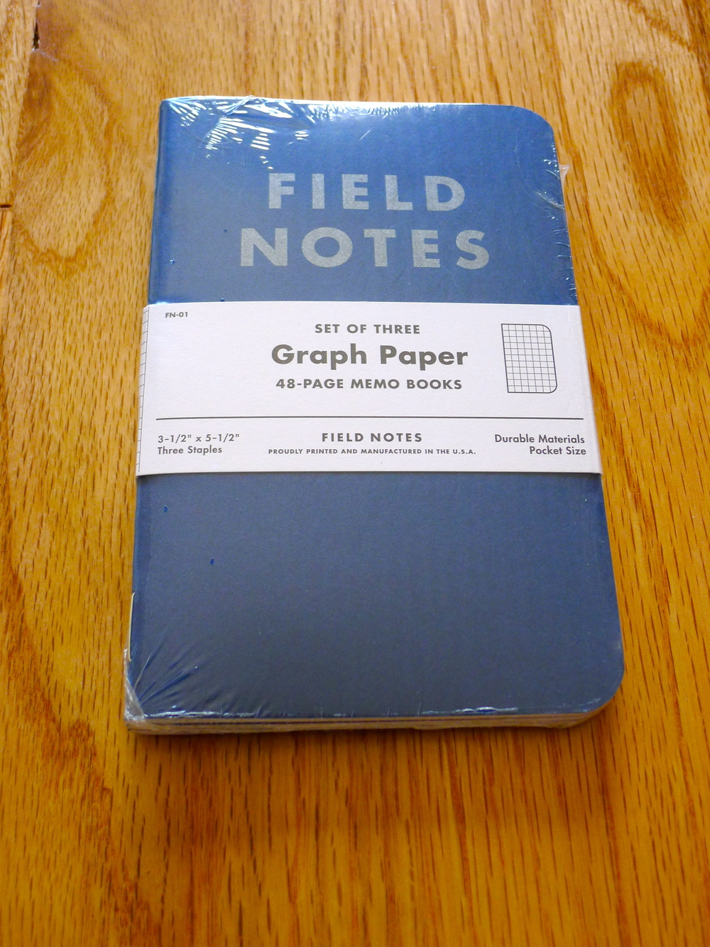 Field Notes American Tradesman Edition - Summer 2011