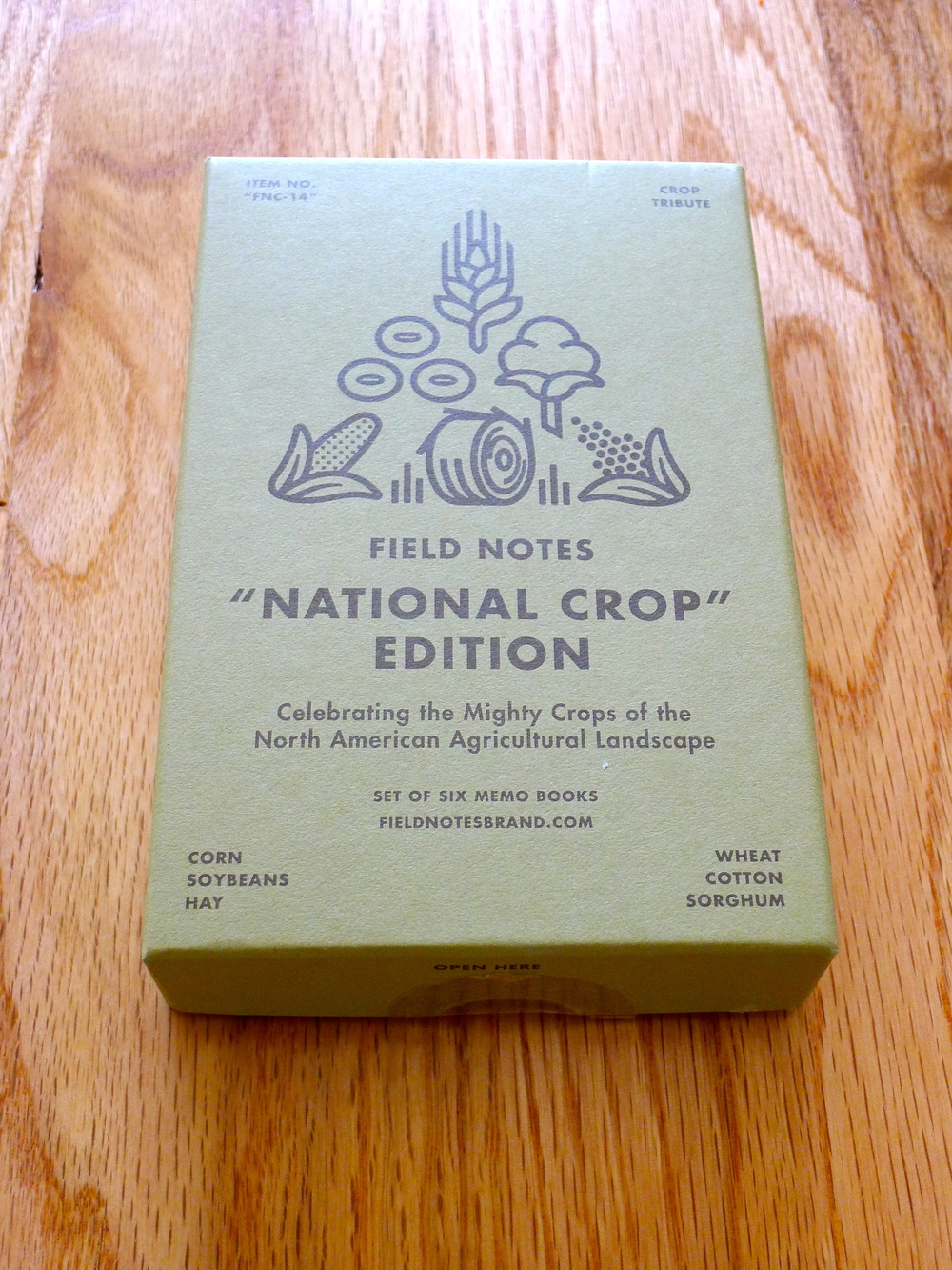 Field Notes National Crop Edition - Spring 2012