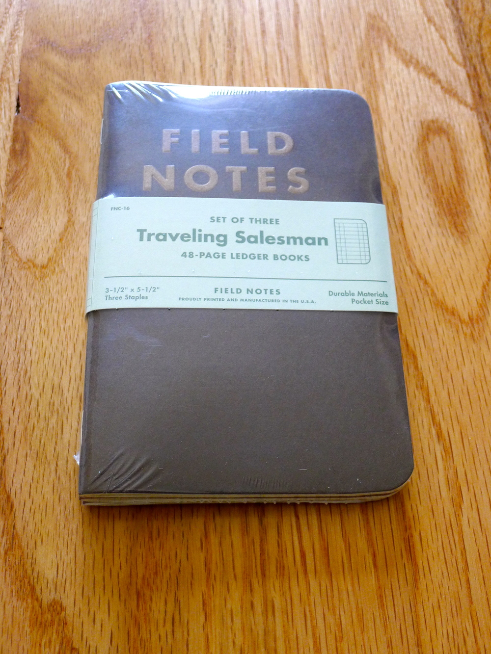 Field Notes Travelling Salesman Edition - Fall 2012