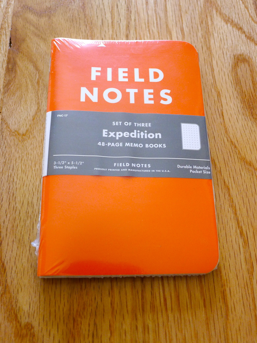 Field Notes Expedition Edition - Winter 2012