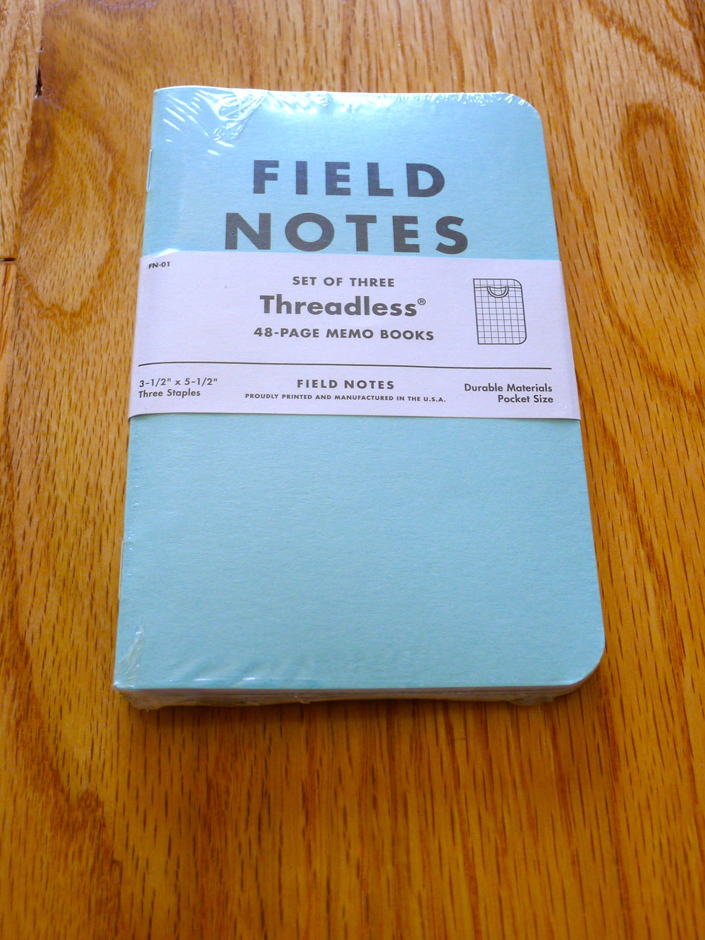 Field Notes Threadless Special Edition