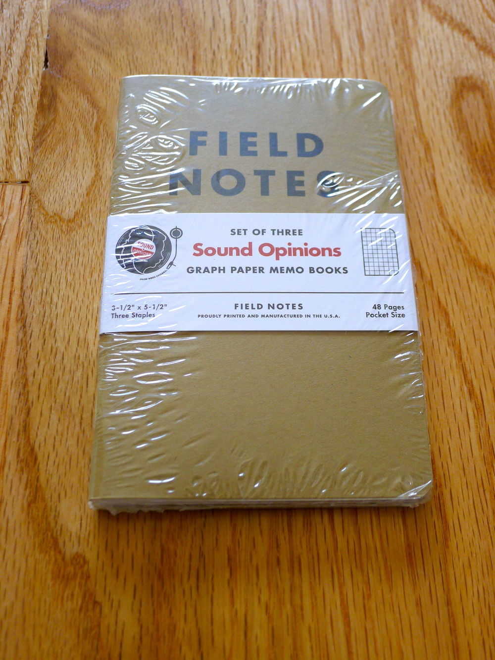 Field Notes Sound Opinions Special Edition