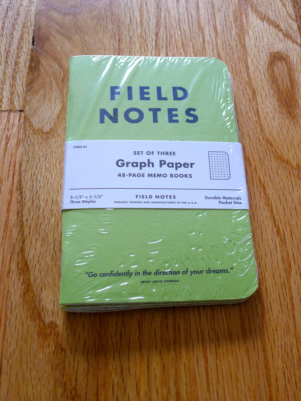 Field Notes JC Penny Special Edition (Green)