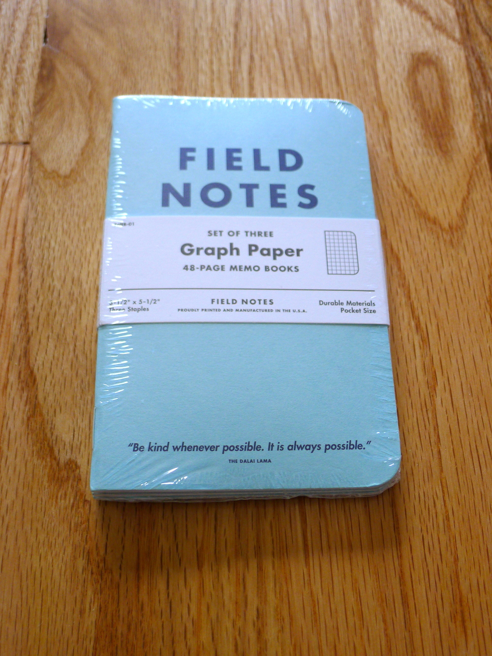 Field Notes JC Penny Special Edition (Blue)