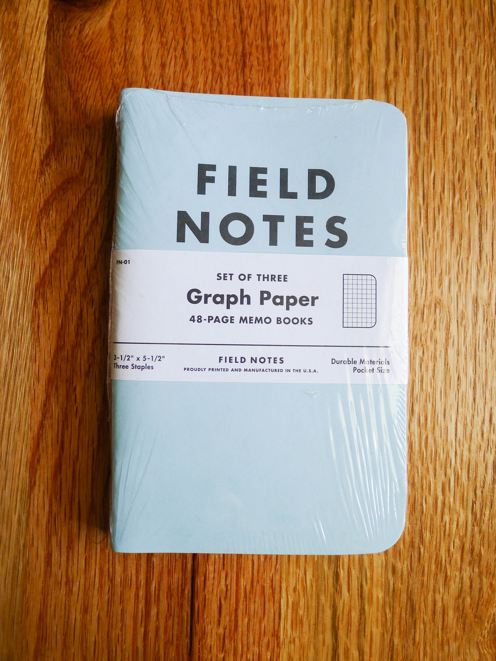 Field Notes Butcher Blue - Spring 2009.JPG