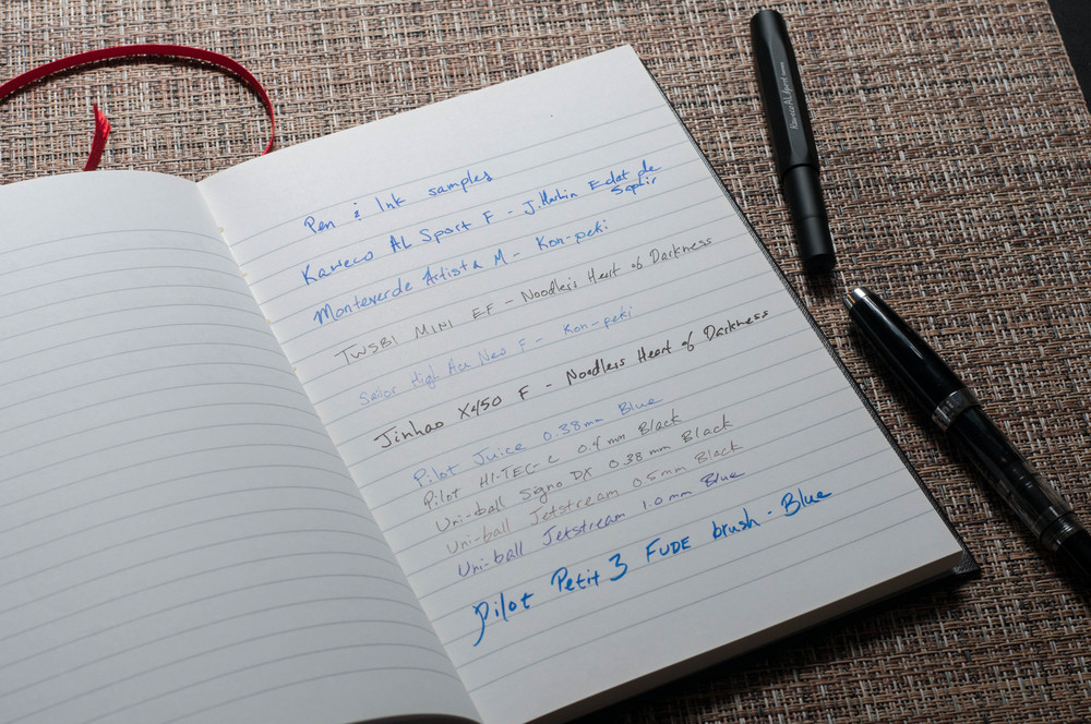 Black N Red Notebook Review The Pen Addict