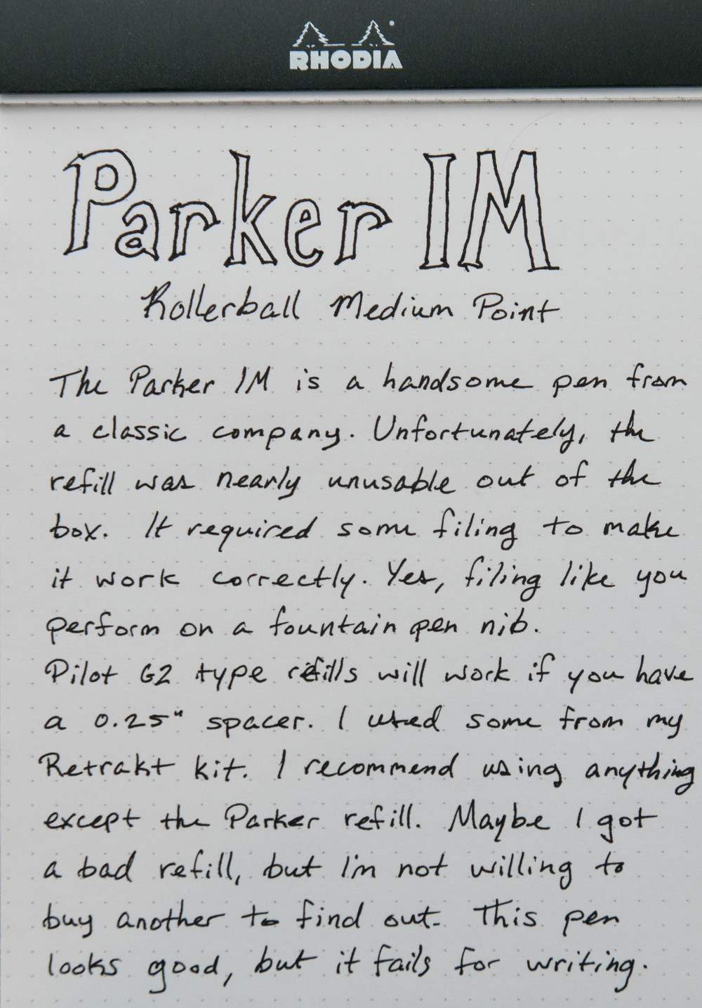 Parker IM Roller Ball Review.jpg