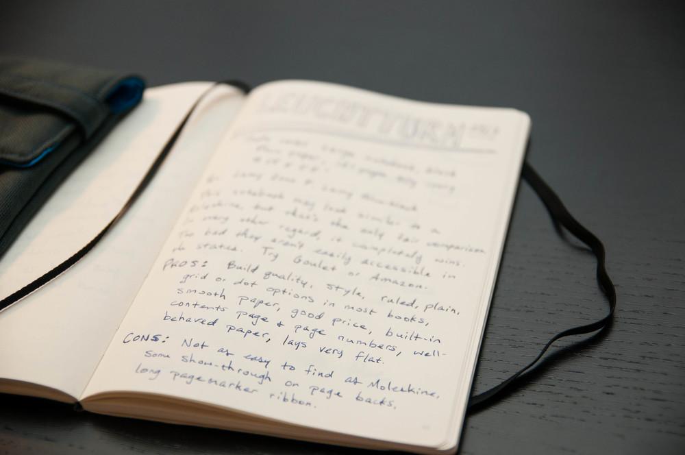 Leuchtturm 1917 Soft Cover Notebook Review The Pen Addict